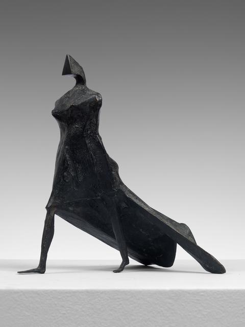 , 'Maquette VII Walking Woman,' 1986, Osborne Samuel