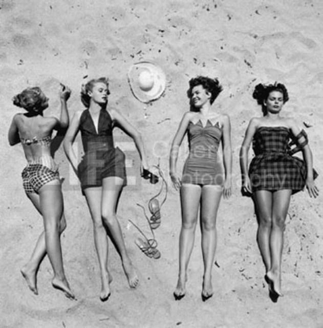 Nina Leen, 'Beach Fashions', 1950, Contessa Gallery