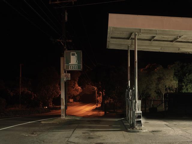 Josef Hoflehner, 'Gas Station, Big Island, Hawaii', 2014, Photography, Archival pigment print, Galerie Nikolaus Ruzicska