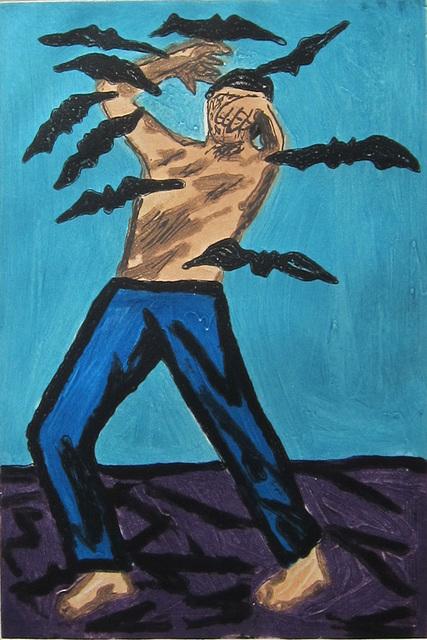 , 'Besieged,' 1986, Albert Merola Gallery
