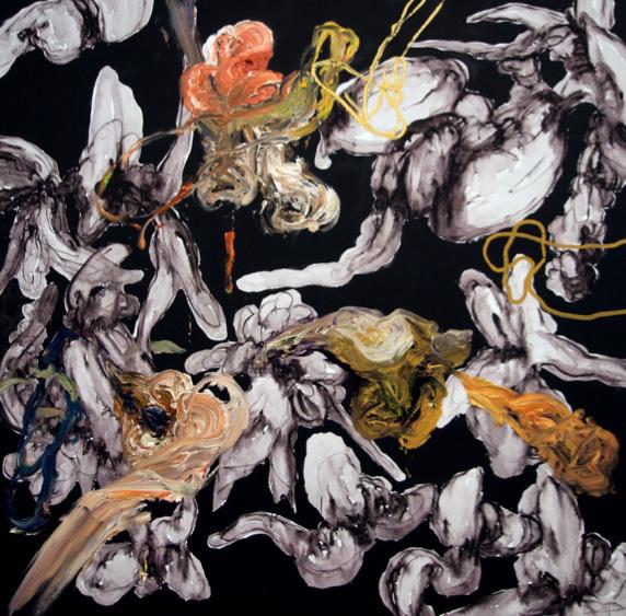 Angel Ricardo Ricardo Ríos, 'Pintura Negra', 2018, Madison Gallery