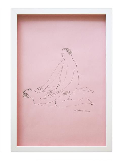 , 'Sitting,' 2016, Hashimoto Contemporary