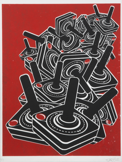 Destroy All, 'Design Joysticks', 2011, Julien's Auctions