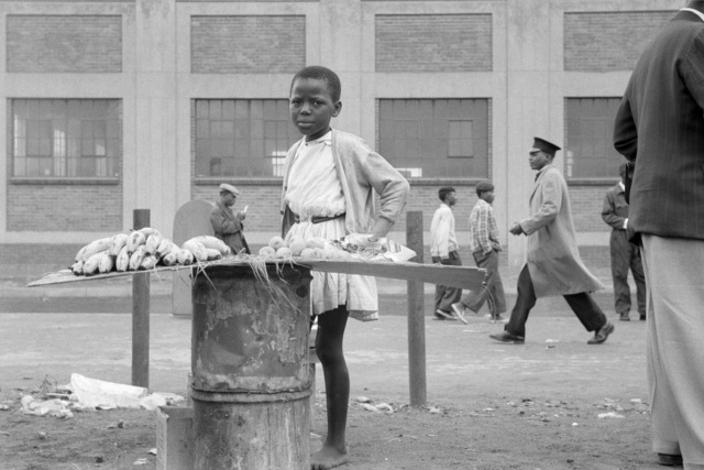 , 'Street trader on West Street, Johannesburg,' 1964, Goodman Gallery