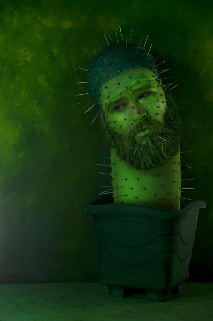, 'Homem Cactus,' 2014, Athena Contemporânea