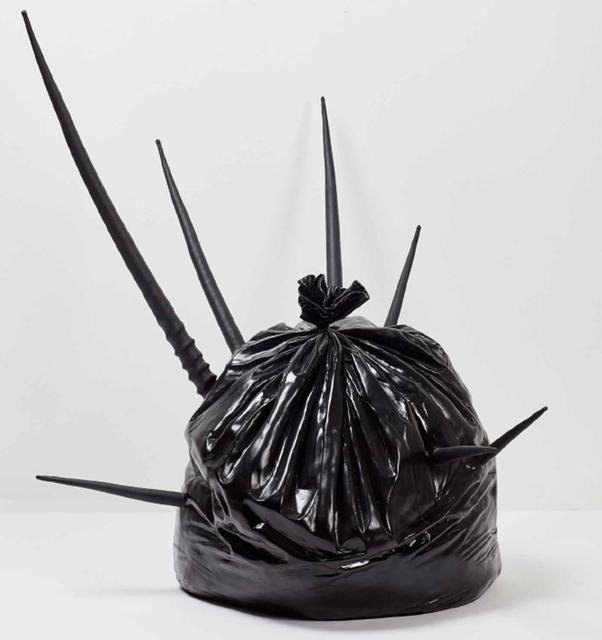 , 'Untitled (Trash, Horns),' 2017, Primo Marella Gallery