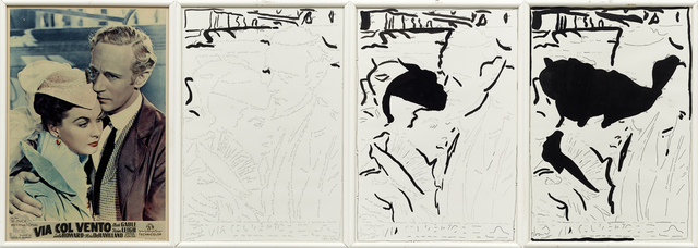 , 'Viva col vento (Gone with the Wind),' 1975, Kadel Willborn