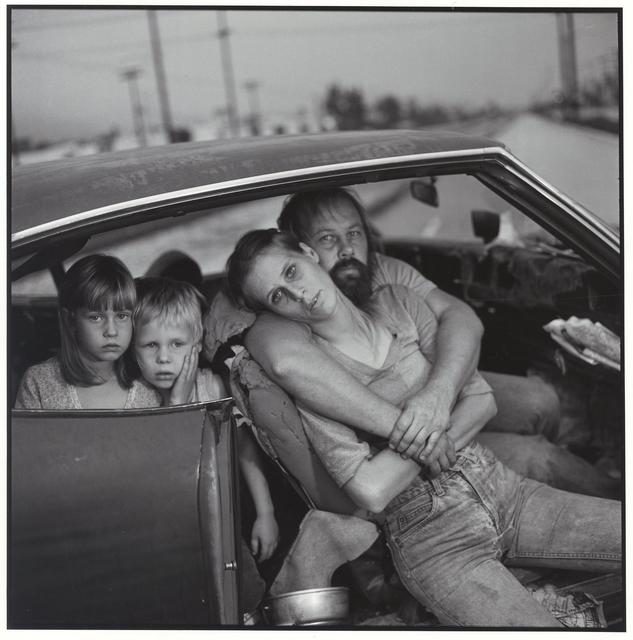 , 'The Damm Family in their car,' 1987, Patricia Conde Galería