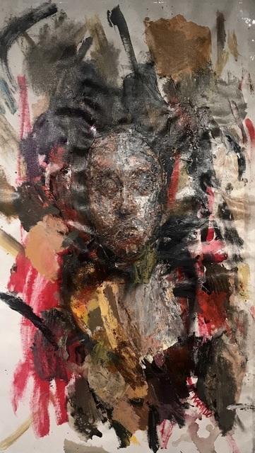 , 'Human 2,' 2019, Gugsa Black Arts Collective