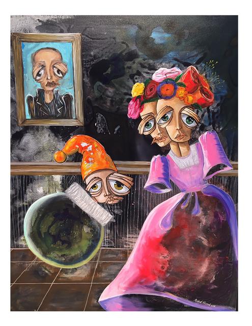 , 'It is forbidden to return / ممنوع من العودة,' 2016, al markhiya gallery