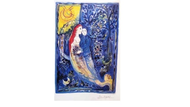 Marc Chagall, 'Wedding', Unknown, Print, Lithograph, Leviton Fine Art