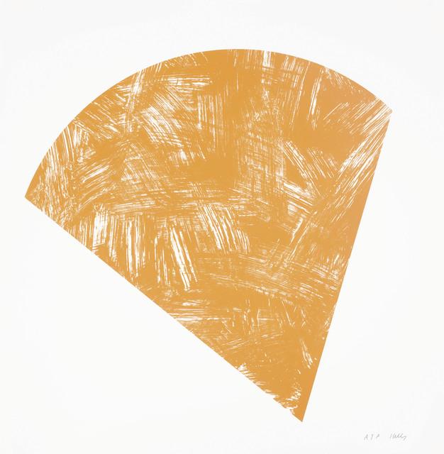 Ellsworth Kelly, 'Untitled (Orange State I), from Purple Red Gray Orange', 1988, Christie's