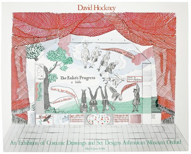 David Hockney, 'Ashmolean Museum 1981, Rake's Progress ', 1981, Petersburg Press