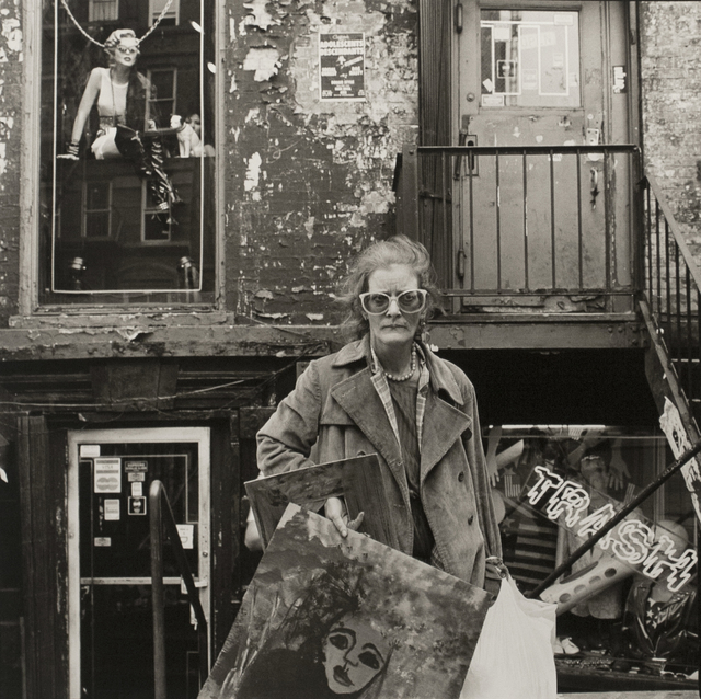 , 'An East Village Painter, NYC,' 1986, Bruce Silverstein Gallery