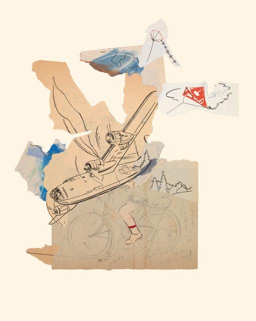 , 'Bicycle 11/25/15,' 2015, Miller Yezerski Gallery