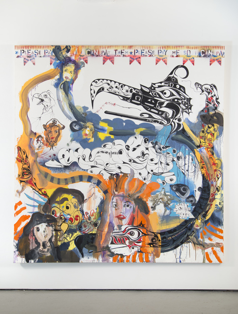 , 'Fort Gotham + N.W. Coast Pirates,' 2014, Jack Shainman Gallery