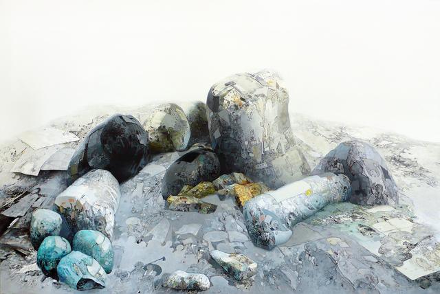 , '堆 The heap ,' 2016.08, Linda Gallery