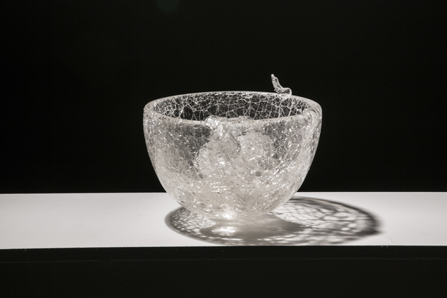 , 'CATCHING GLASS FORMED BY WATER #5,' 2016, Traver Gallery