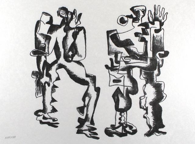 , 'Deux figures,' 1967, Sylvan Cole Gallery