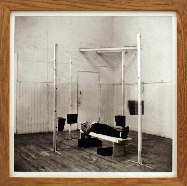 , 'ENG-RAUM mit 8 Lautsprechern, 1974 Atelier I, New York,' 1974, Georg Kargl Fine Arts