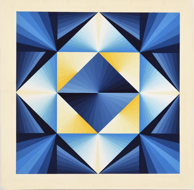 , 'Radial Painting,' 1969, acb