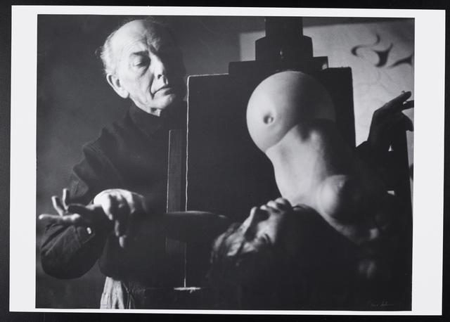 , 'Portrait Hans Bellmer,' 1961, Levy