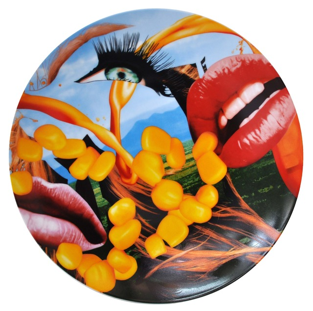 , 'Lips Plate by Bernardaud,' 2013, SPONDER GALLERY