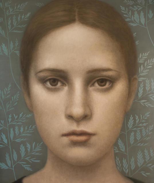 , 'Verde Aguamarina,' 2017, Nüart Gallery