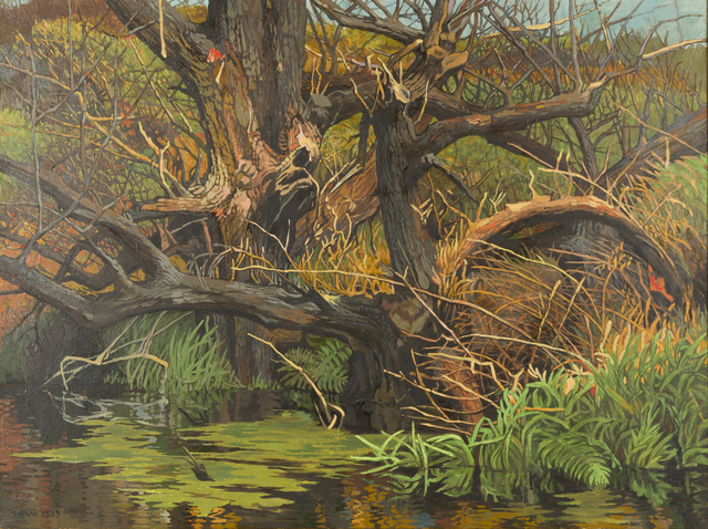, 'Willow Swamp,' 1989, Childs Gallery
