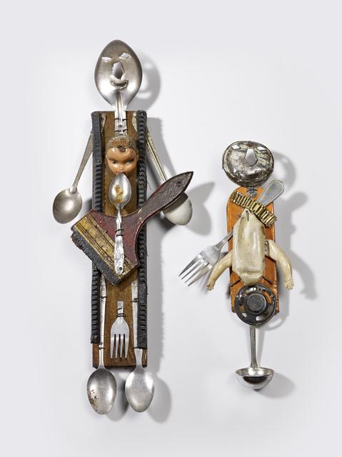 , 'Two Haitian sculptures representing Loa Ogoun,' ca. 19th century, Musée du quai Branly