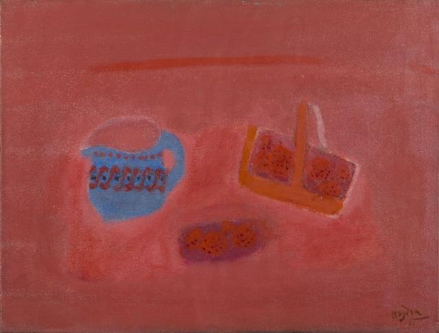 , 'Le Pot Bleu et Fraises,' 1961, Jenna Burlingham Fine Art