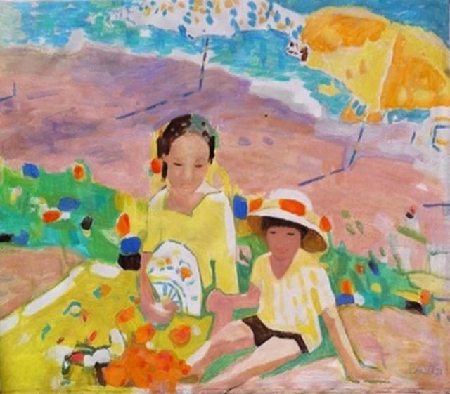 , 'Mother & Child on Beach,' , Miller Gallery