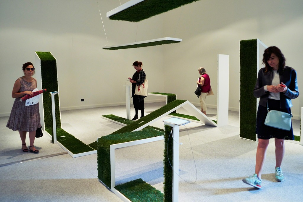 Can You See (Installation view)