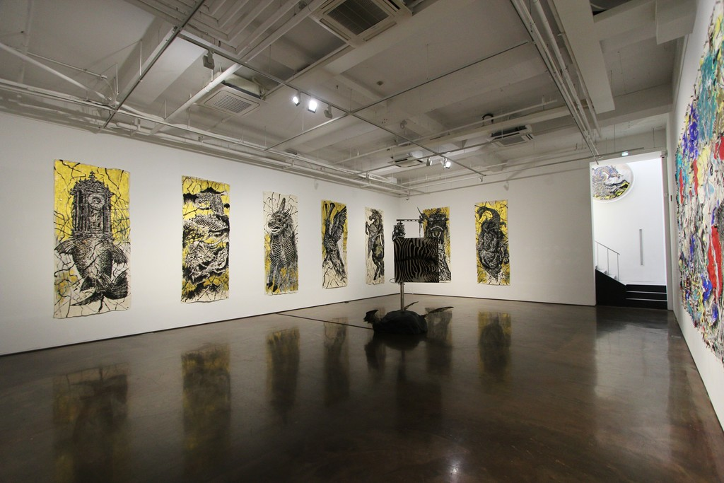 "Exhibition View of ""SUN XUN: Tears of Chiwen"""