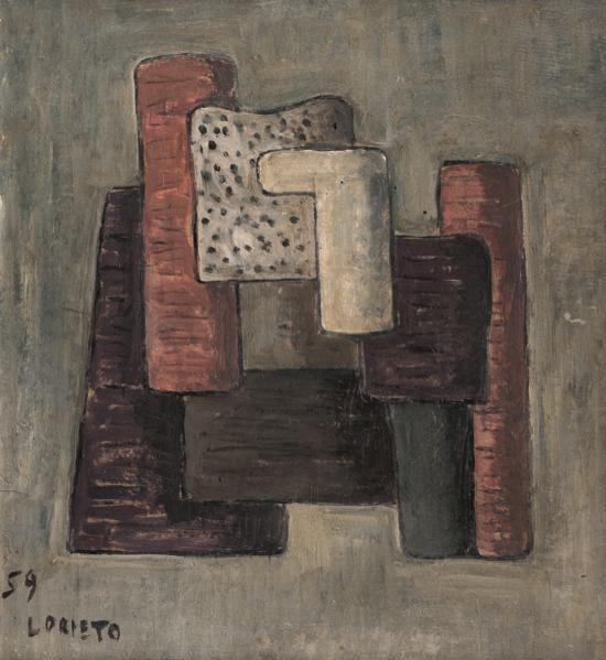 , 'Composición,' 1959, Galería de las Misiones