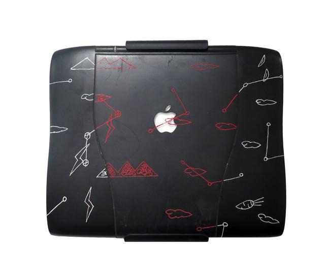 , 'Applied Ideogram Series – Apple Notebook,' 1996, Galerie du Monde