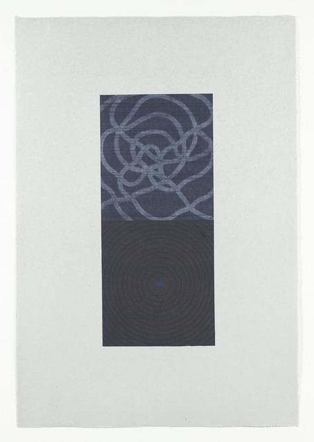 , 'Clearing (Vertical)154-12-P,' 2012, Goya Contemporary/Goya-Girl Press