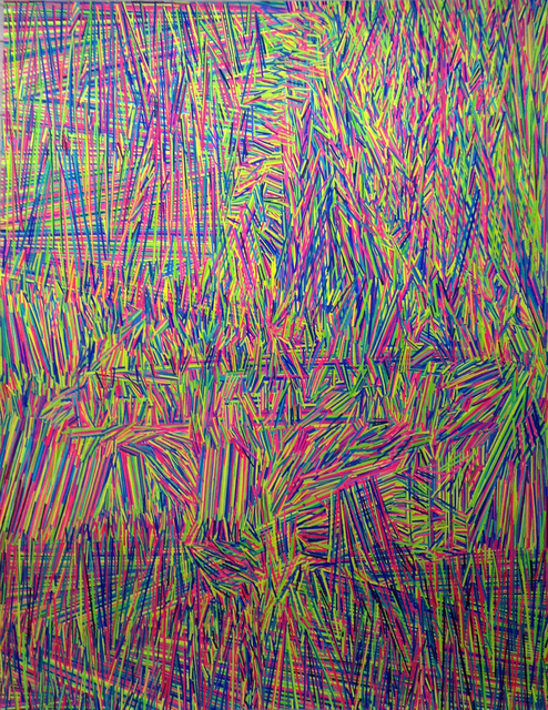 , 'Energia onda interior y proyección del ser,' 2015, RO Galeria de arte