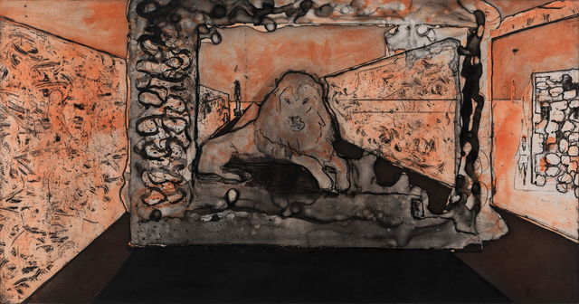 , 'Lion in the Road,' 2016, HDM Gallery