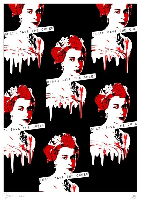 Death NYC, 'QUEEN REPEAT RED', 2015, Poulpik Gallery