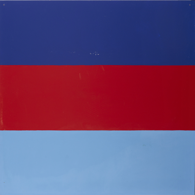 , 'Untitled | Series with red and blue as recurring colours,' 1965, Galleri Bo Bjerggaard
