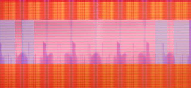 Matthew Kluber, 'Electr-O-Pura', 2015, Painting, Alkyd on aluminum, custom software, digital projection, David Richard Gallery