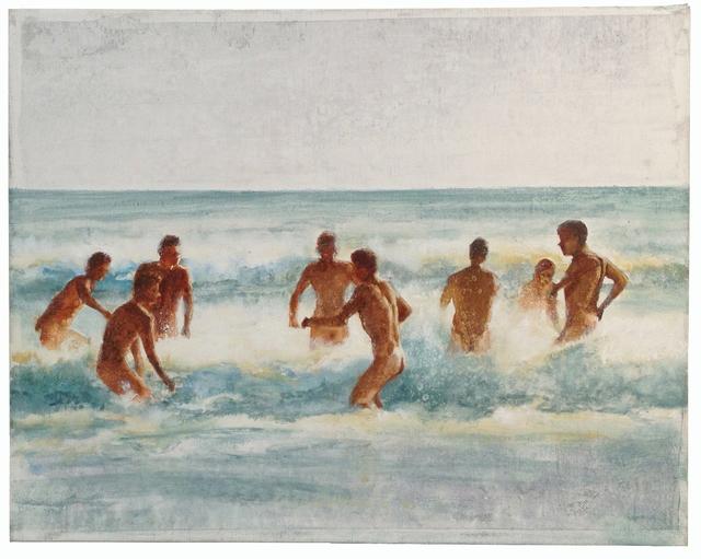 , 'Bathers (8 Figures),' 2015, Albert Merola Gallery
