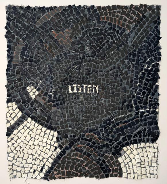 Annabel Daou, 'listen', 2019, Conduit Gallery