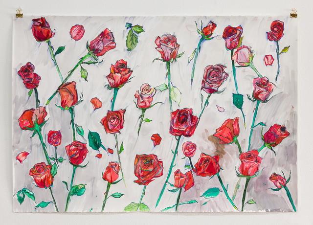 , 'Roses,' 2018, MARTOS GALLERY