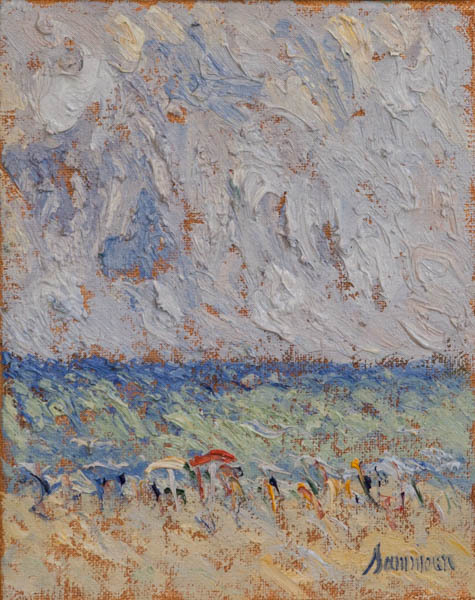 , 'At The Beach, Study,' 2018, Galerie d'Orsay