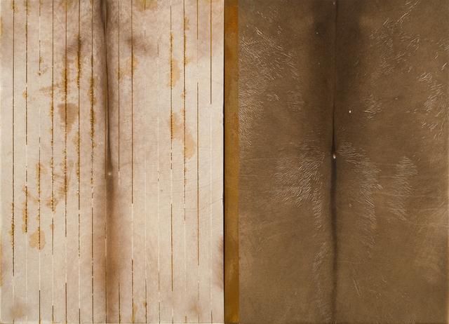 José Bechara, 'Untitled', 2003, Painting, Oxidation on bovine leather, LURIXS: Arte Contemporânea