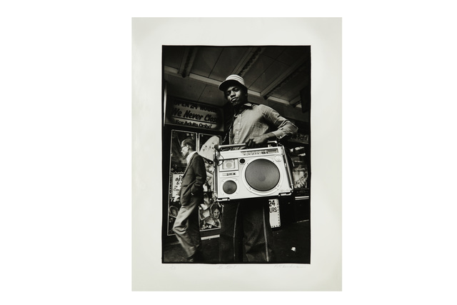 Peter Anderson, 'B-Boy', 1980, Silver gelatin print, Chiswick Auctions