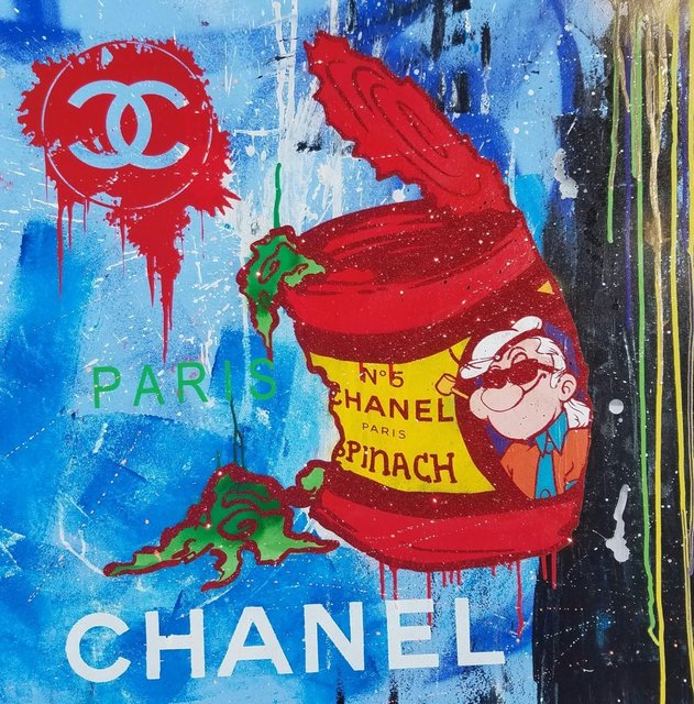 , 'Chanel Karl Popeye Blue Paris,' 2016, Avant Gallery
