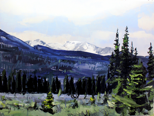 , 'Rocky Mountain National Park,' 2017, Abend Gallery